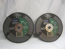 """2 - Norton # 07660789088 Masonry Cut Off Blade 7""""  x 1/8 DM In.  Silicon Carbide"""