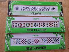 Sticker Bindi /Temp.Tattoo /Decorative Jewels/ Belly Dance/Indian Bridal X3 Pack