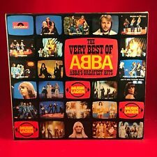 The Very Best Of Abba 1976 German double vinyl LP Greatest Hits EXCELLENT CONDIT