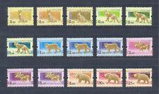 Russia 2010 Fauna. Definit., 15 v. MNH