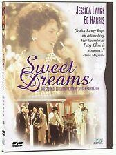 """JESSICA LANGE IN """"SWEET DREAMS"""" (DVD, 1999) OOP!"""