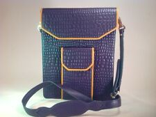 NEW Ladies iPhone Wallet Combo Purple Yellow Leather Purse for iPad 2 4 Air