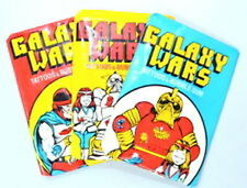 Donruss 'GALAXY WARS Tattoos & Gum' Set of 3 Sealed/Unopened Wax Packs (1970s)