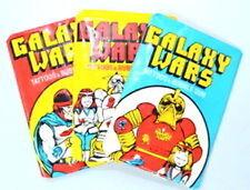 Donruss 'Galaxy WARS Tatuajes & Goma' Conjunto de 3 paquetes de Cera Sin Abrir Sellado/(1970s)