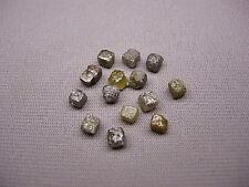10+Carat 14 Natural Uncut ROUGH DIAMONDS Cubes Gems 3/4