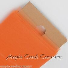 ORANGE Tulle Bolt 54 in x 40 yd Weddings and Prom (120 feet of fabric)