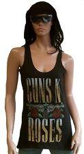 Amplified Official Guns N' Roses Logo Rock Star Designer Vip Wow Tank Top Top L