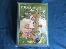 1927 POEMS FOR THE CHILDREN'S HOUR  over 500 ! Cute Cover