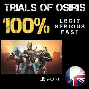 Trials of Osiris / Jugement d'Osiris Recovery 1 Flawless LEGIT