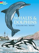 Coloring Book For Adults Whales Dolphins Painting 44 Images Pages Anti Stress