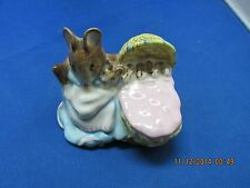 "Beswick England Beatrix Potter's ""Hunca Munca"" - Old Timer's Collection"