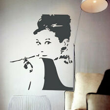 Removable Wall Decal Stickers Home Decor Audrey Hepburn Mural Vinyl Art RoomDIY