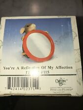 Fitz and Floyd Charming Tails 84/115 You're a Reflection of My Affection Nib
