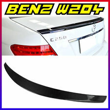 Carbon Fiber Trunk Spoiler BOOT D-Performance 08-13 W204 C180 C250 C300 C63 AMG