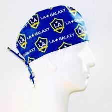 MLS LA Galaxy Soccer Club theme scrub hat
