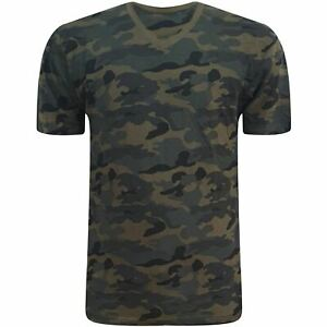 OLD NAVY Mens Camo T Shirt Army Shirt Military Camouflage Combat Summer Top Tee