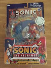 Jazwares SONIC THE HEDGEHOG~200th COMIC BOOK PACK~SONIC & KNUCKLES~Toys RUS Excl