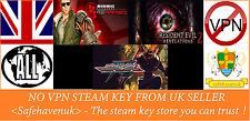 Resident EVIL REVELATIONS 2 EP1 Bionic Commando Strider chiave di vapore novpn UKSeller