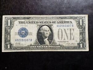 Series of 1928 A $1 Funnyback Silver Certificate