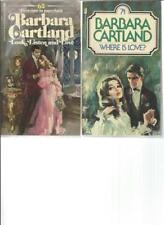 BARBARA CARTLAND - LOOK, LISTEN AND LOVE - A LOT OF 2 BOOKS