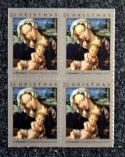 2013USA #4815 Forever Virgin and Child by Gossaert - Block of 4 From Booklet