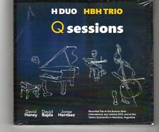 (HQ744) Q-Sessions H-Duo, HBH Trio - 2015 Sealed double CD