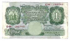 Mahon England Note English Banknotes (Pre-1952)