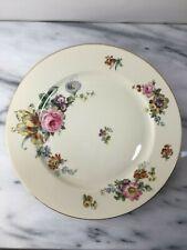 Set of 10 Rosenthal Continental Ivory Bavaria Dinner Plates Floral
