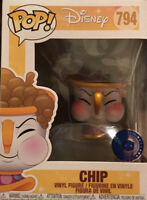 FUNKO POP HOT RELEASE DISNEY CHIP BLOWING BUBBLES BEAUTY AND THE BEAST PIB EXC