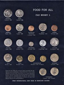 FAO Money Food for all Food agriculture organization World Coinage Münzen