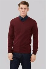 NEW WITH TAGS! DKNY Claret Merino Wool Jumper Size Large RRP $123