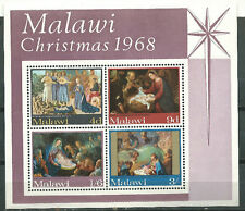 MALAWI Scott# 94a ** MNH Souvenir Sheet Christmas 1968