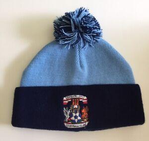 Coventry City F.C Children's Beanie Hat -Knit Winter Cap Pom-Pom