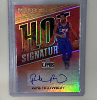 2018-19 Hoops Hot Signatures Patrick Beverley Auto Clippers 🔥🔥