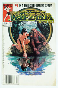 Tarzan of the Apes #1 (Jul 1984, Marvel)