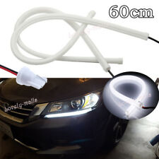 6000K White LED DRL Strip Lights Headlight Retrofit For 13-15 Honda Accord Sedan