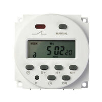 Hot DC 12V Digital LCD Display Programmable Time counter Timer switch Relay 16A