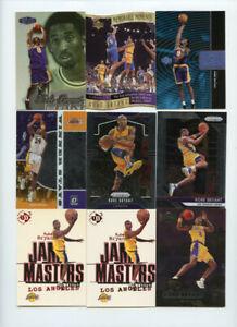 Lot of (61) Kobe Bryant Premium Base & Insert Cards Prizm Showcase ABC10243
