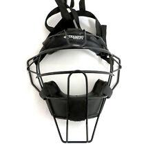 Champro CM63B Adult Umpire Face Mask -- Black