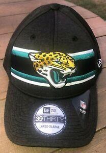 New Era NFL Jacksonville Jaguars 39Thirty OnField Cap Black NWT
