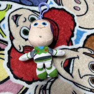 Z5 Disney Pixar Toy Story 4 Buzz Lightyear Mini Plush Clip On Keyring