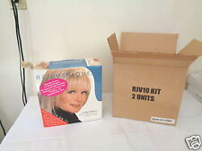 REJUVENIQUE Ultimate Facial Mask Toning System (1 Kit) LINDA EVANS New Old Stock
