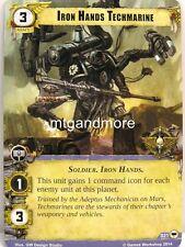 Warhammer 40000 Conquest LCG - Iron Hands Techmarine  #021 - Base Set