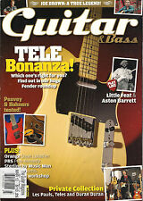 GUITAR & Bass Magazine March 2013 Joe Brown Play Like Little Feat Aston Barrett