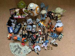 Star Wars - Action Figure Plush Junk Toy Model Collection Bundle Job Lot BB-8