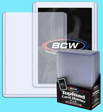 50 BCW 108 пинт Toploaders для толстых карты 3x4x2.75 верхний погрузчик новый в заводской упаковке