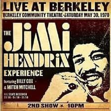 JIMI EXPERIENCE HENDRIX - LIVE AT BERKELEY  CD++++++++++12 TRACKS+++++++NEU