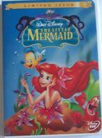 walt Disney the little mermaid dvd limited issue widescreen version