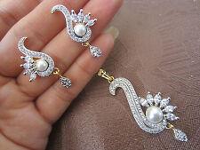 Diamond Pearl Costume Jewellery Sets