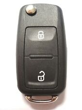 Replacement 2 button flip key case for VW Volkswagen Transporter T5 Polo remote